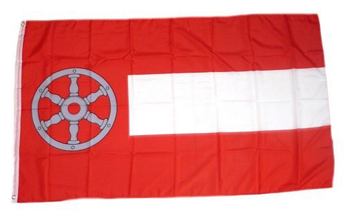Flagge / Fahne Erfurt Hissflagge 90 x 150 cm