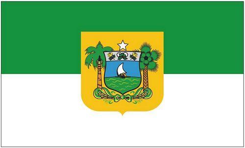 Fahne / Flagge Brasilien - Rio Grande do Norte 90 x 150 cm