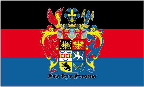 Fahne / Flagge Ostfriesland Schrift | Niedersachsen