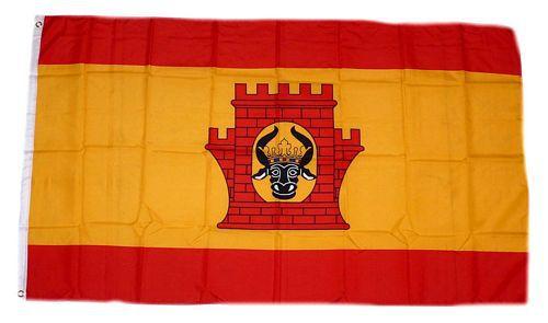 Flagge / Fahne Plau am See Hissflagge 90 x 150 cm