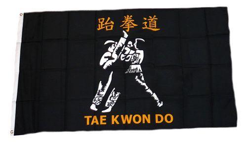 Fahne / Flagge Tao Kwon do 90 x 150 cm