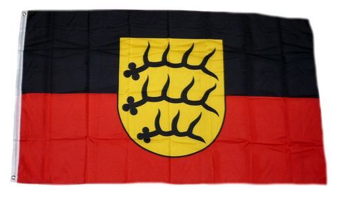 Fahne / Flagge Württemberg Hohenzollern 90 x 150 cm