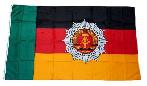 Fahne / Flagge DDR - Grenzpolizei 90 x 150 cm