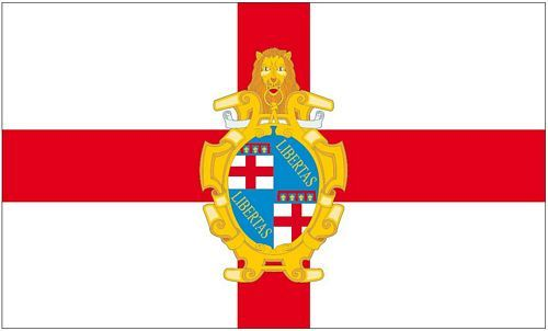 Fahne / Flagge Italien - Bologna 90 x 150 cm