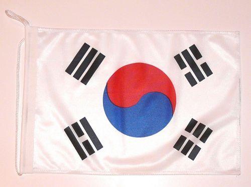 Bootsflagge Südkorea 30 x 45 cm