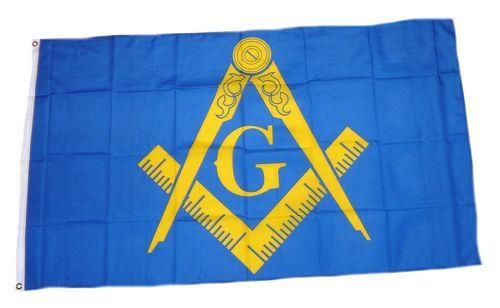 Fahne / Flagge Freimaurer 90 x 150 cm