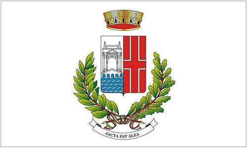Fahne / Flagge Italien - Rimini 90 x 150 cm