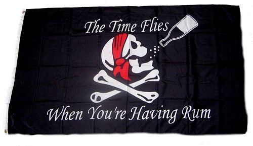 Fahne / Flagge Pirat Rum 90 x 150 cm