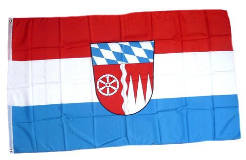 Flagge / Fahne Landkreis Miltenberg Hissflagge 90 x 150 cm