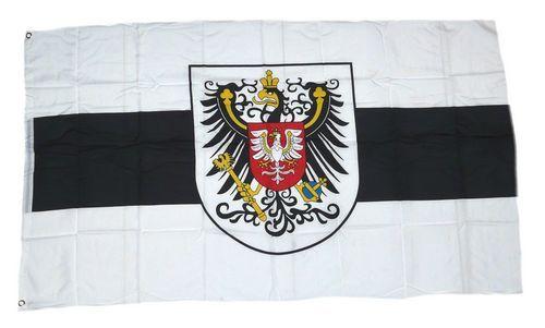 Fahne / Flagge Großherzogtum Posen Provinz 90 x 150 cm