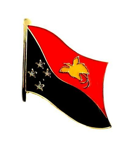 Fahnen Anstecker Pin Papua Neuguinea