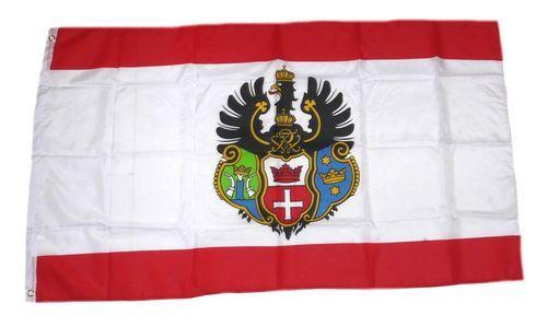 Fahne / Flagge Königsberg 90 x 150 cm