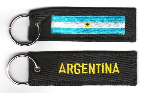 Fahnen Schlüsselanhänger Argentinien