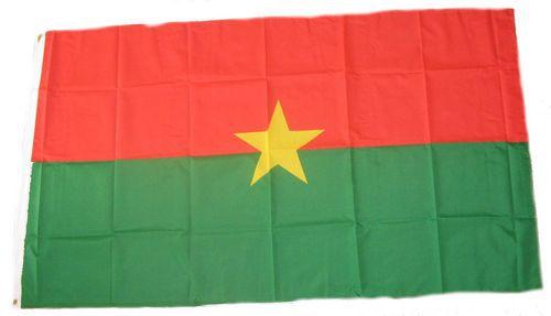 Flagge / Fahne Burkina Faso Hissflagge 90 x 150 cm