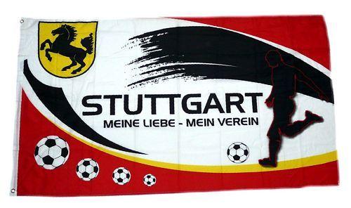 Fahne / Flagge Stuttgart Mein Verein 90 x 150 cm