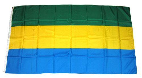 Flagge / Fahne Gabun Hissflagge 90 x 150 cm
