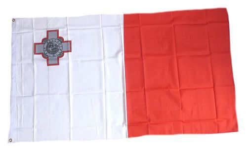 Flagge / Fahne Malta  Hissflagge 90 x 150 cm