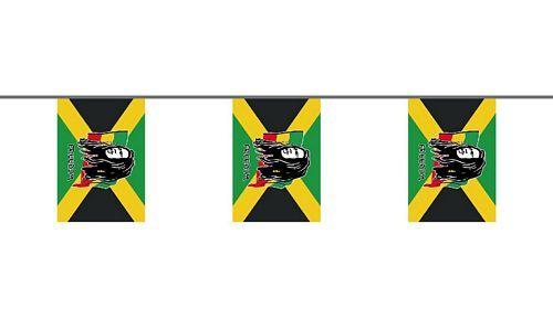 Flaggenkette Bob Marley 6 m