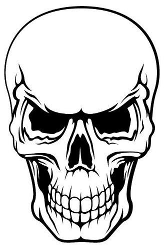 autoaufkleber sticker totenkopf skull