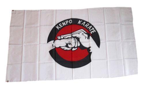 Fahne / Flagge Karate 90 x 150 cm