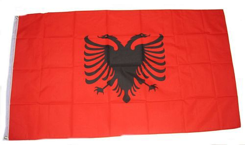 Flagge / Fahne Albanien Hissflagge 90 x 150 cm