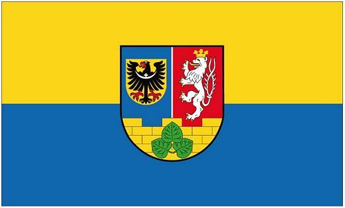 Fahne / Flagge Landkreis Görlitz 90 x 150 cm