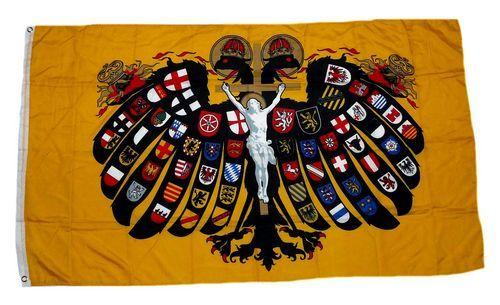Fahne / Flagge Quaterionenadler 90 x 150 cm