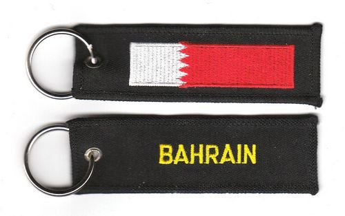 Fahnen Schlüsselanhänger Bahrain