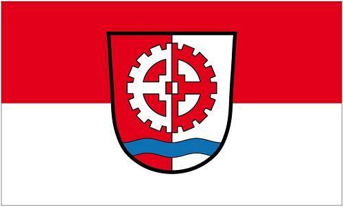 Fahne / Flagge Gersthofen 90 x 150 cm
