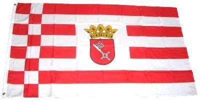 Flagge / Fahne Bremen Hissflagge 90 x 150 cm
