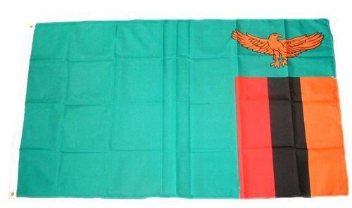 Flagge / Fahne Sambia Hissflagge 90 x 150 cm