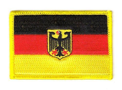 Fahnen Aufnäher Deutschland Adler