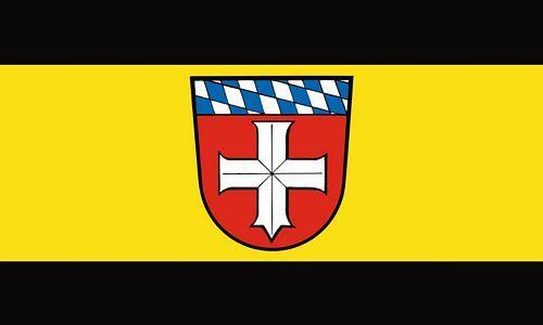 Fahne / Flagge Bürstadt 90 x 150 cm