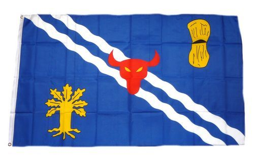 Fahne / Flagge England - Oxfordshire 90 x 150 cm