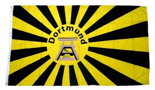 Fahne / Flagge Dortmund Ruhrpott 90 x 150 cm