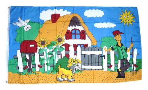 Fahne / Flagge Gärtner Gartenfahne 90 x 150 cm