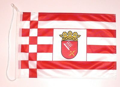 Bootsflagge Bremen 30 x 45 cm