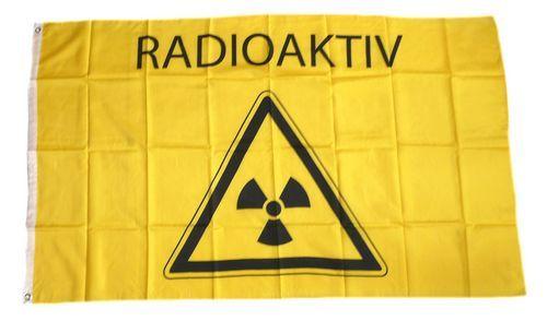 Fahne / Flagge Radioaktiv 90 x 150 cm