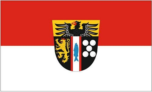 Fahne / Flagge Landkreis Kaiserslautern 90 x 150 cm