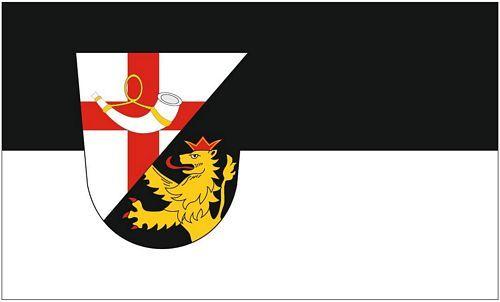 Fahne / Flagge Landkreis Cochem Zell 90 x 150 cm