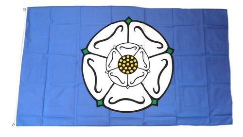 Fahne / Flagge England - Yorkshire 90 x 150 cm