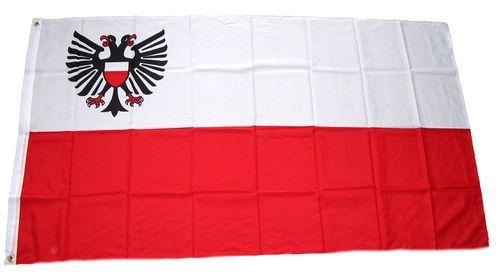 Flagge / Fahne Lübeck Hissflagge 90 x 150 cm
