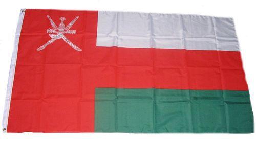 Flagge / Fahne Oman Hissflagge 90 x 150 cm