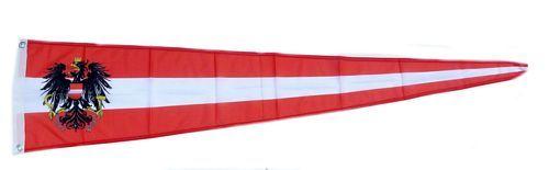 Langwimpel Österreich Adler 30 x 150 cm