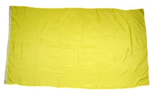 Fahne / Flagge Einfarbig Gelb 150 x 250 cm