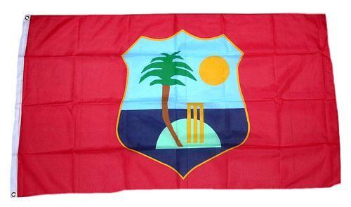 Fahne / Flagge West Indies Cricket Team 90 x 150 cm