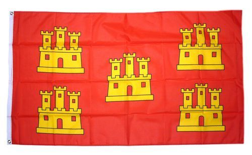 Fahne / Flagge Frankreich - Poitou Charentes 90 x 150 cm