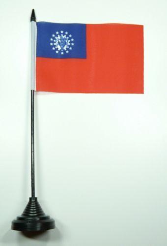Fahne / Tischflagge Taiwan NEU 11 x 16 cm Flaggen