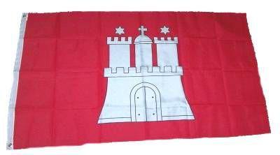 Flagge / Fahne Hamburg Hissflagge 90 x 150 cm