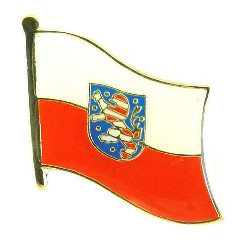 Flaggen Pin Thüringen